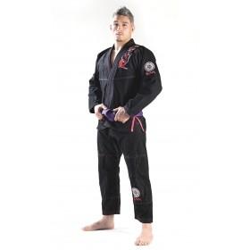 BJJ GI Ronin Samurai Schwarz