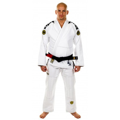 Kimono KINGZ 450 COMP V4 blanc