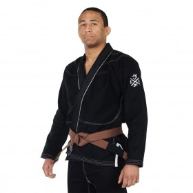 BJJ GI THE SOVEREIGN 2.0 KINGZ Schwarz
