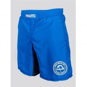 Shorts BJJ MANTO BASICO Blau