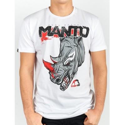 T-SHIRT MANTO KILLS BLANC