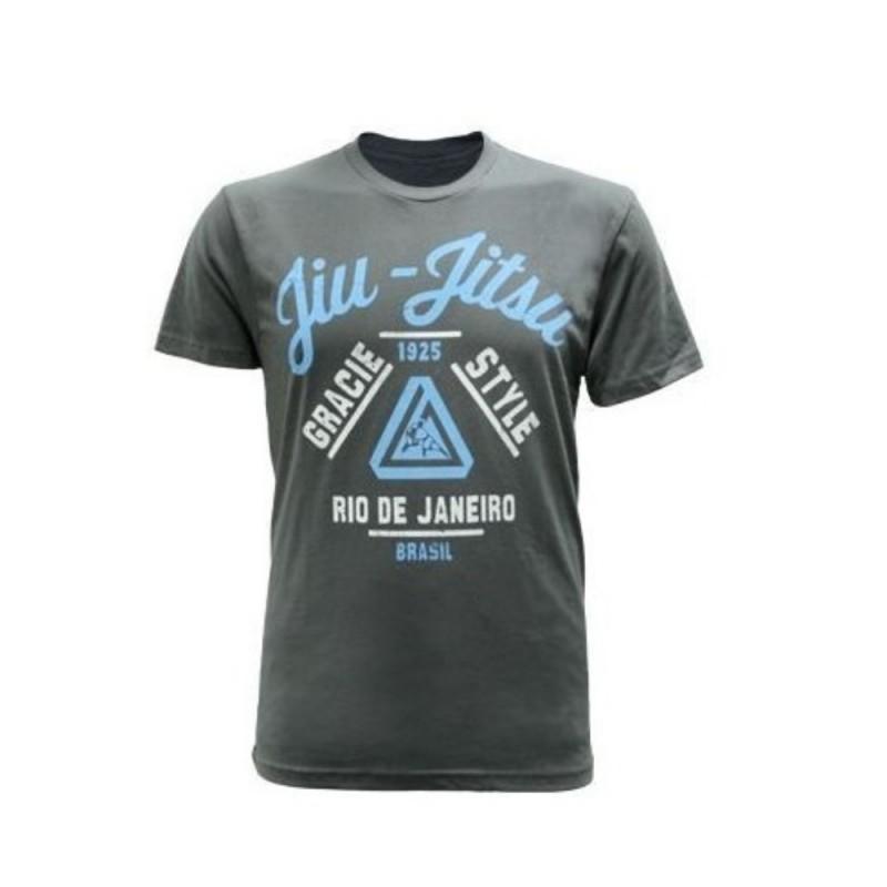 T shirt GRACIE JIU JITSU - Gracie Style