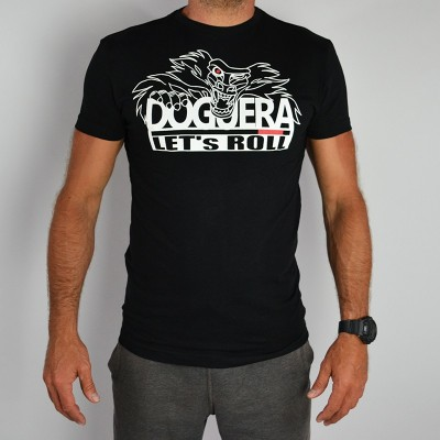 T-SHIRT Lets Roll Doguera