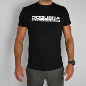 T-SHIRT Submission Fight Doguera Schwarz