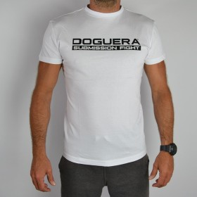T Shirt DOGUERA Submission Fight blanc