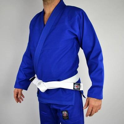 BJJ GI Classic V.2 4Leaf Clover blau