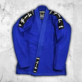 BJJ GI ATHL. Jiu Jitsu Still Blau