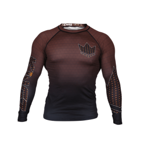 Rashguard Herren BJJ KINGZ CROWN IBJJF RANK 3.0