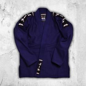 BJJ GI ATHL. Jiu Jitsu Still Marineblau