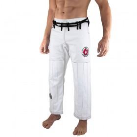 Brasilianische Jiu-Jitsu-Hose Bõa Jogo no Chão - weiß